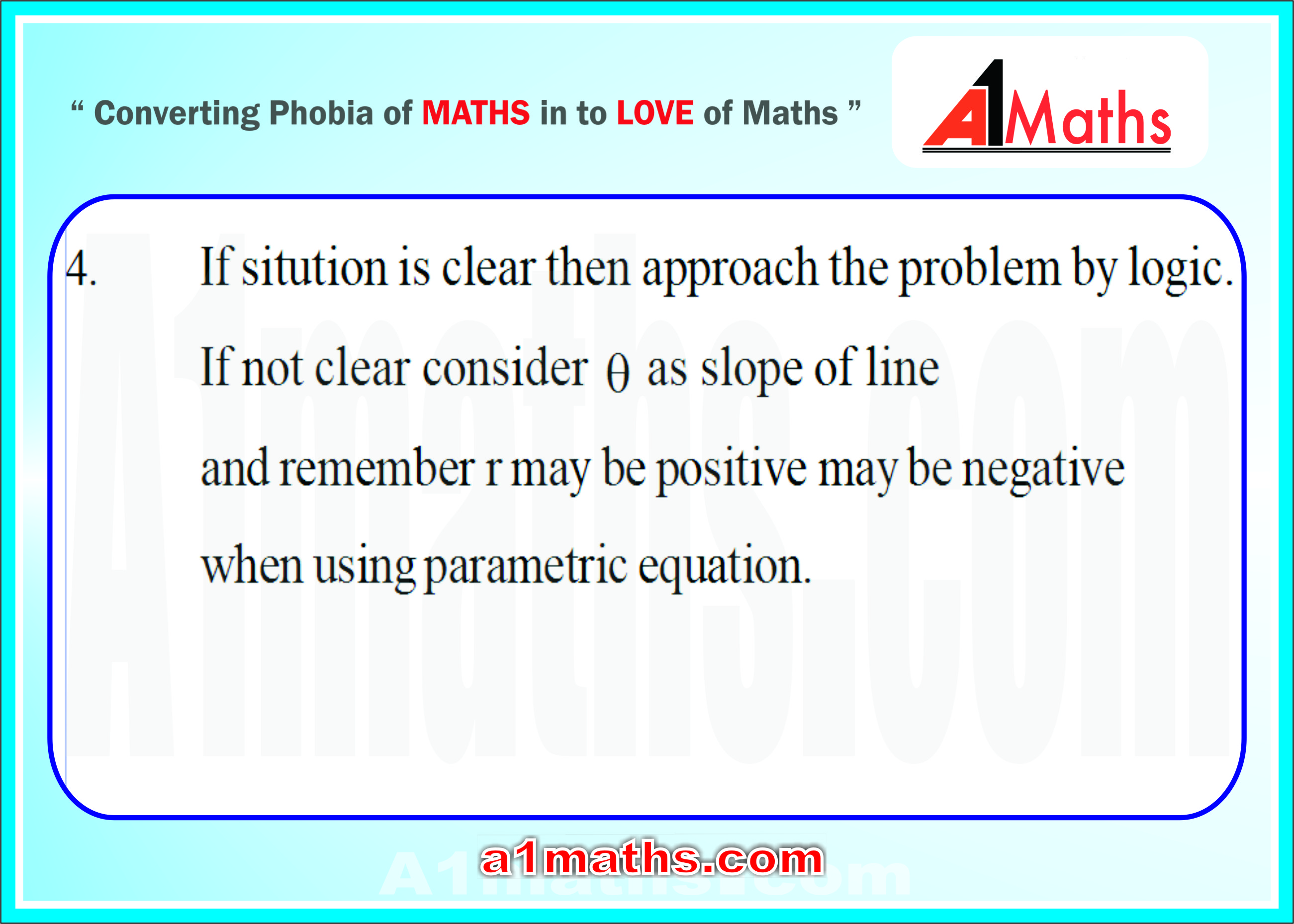 35 parametric equations of lines- applications-coordinate geometry-IIT JEE-MAINS / ADVANCED