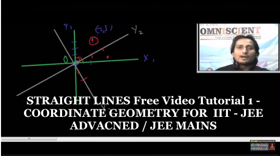 STRAIGHT LINES Free Video Tutorial – COORDINATE GEOMETRY FOR  IIT – JEE ADVANCED / JEE MAINS-1