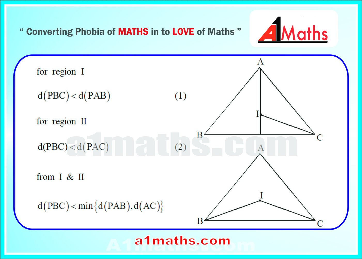 solving skills of max min type prob straight lines coordinate solving skills of max min type prob
