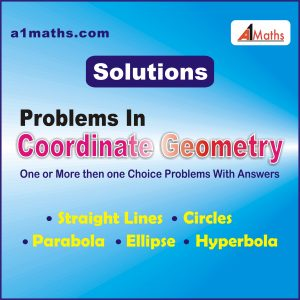 Co-ordinate Geometry solutions..