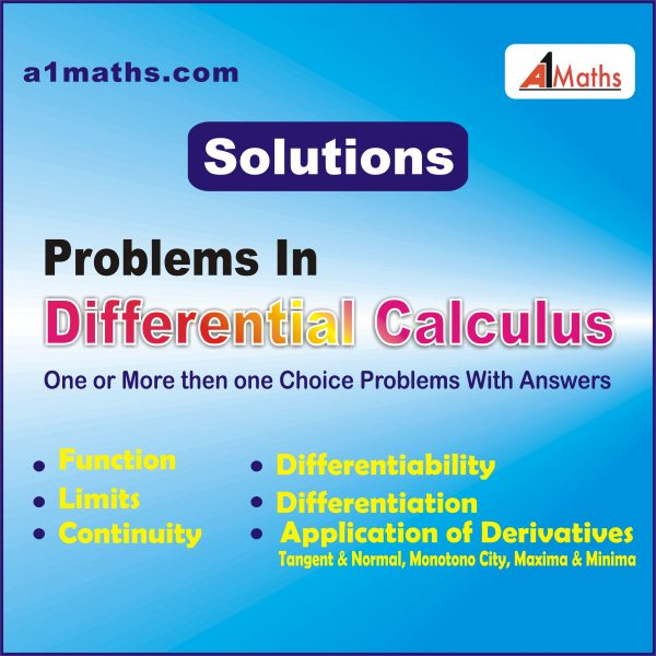 Differential Calculus solutions.