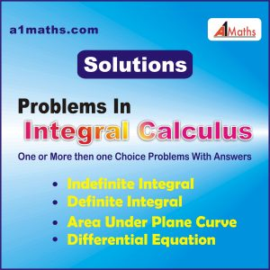 Integral Calculus solutions.