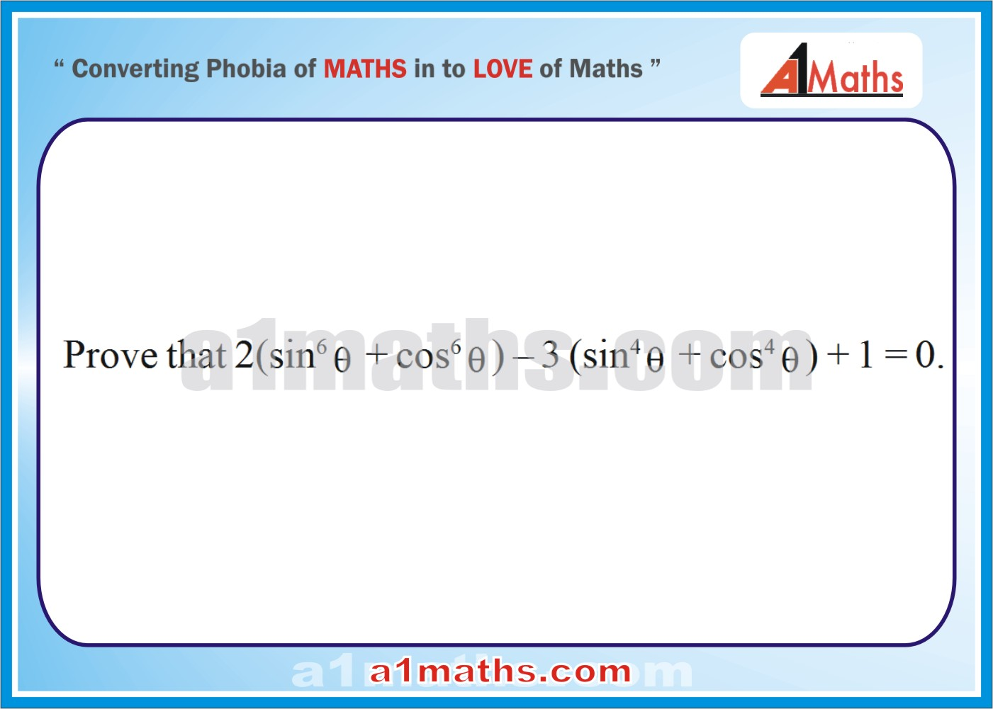 Solved Examples 1 Trigonometric Ratios Identities Trigonometry Iit