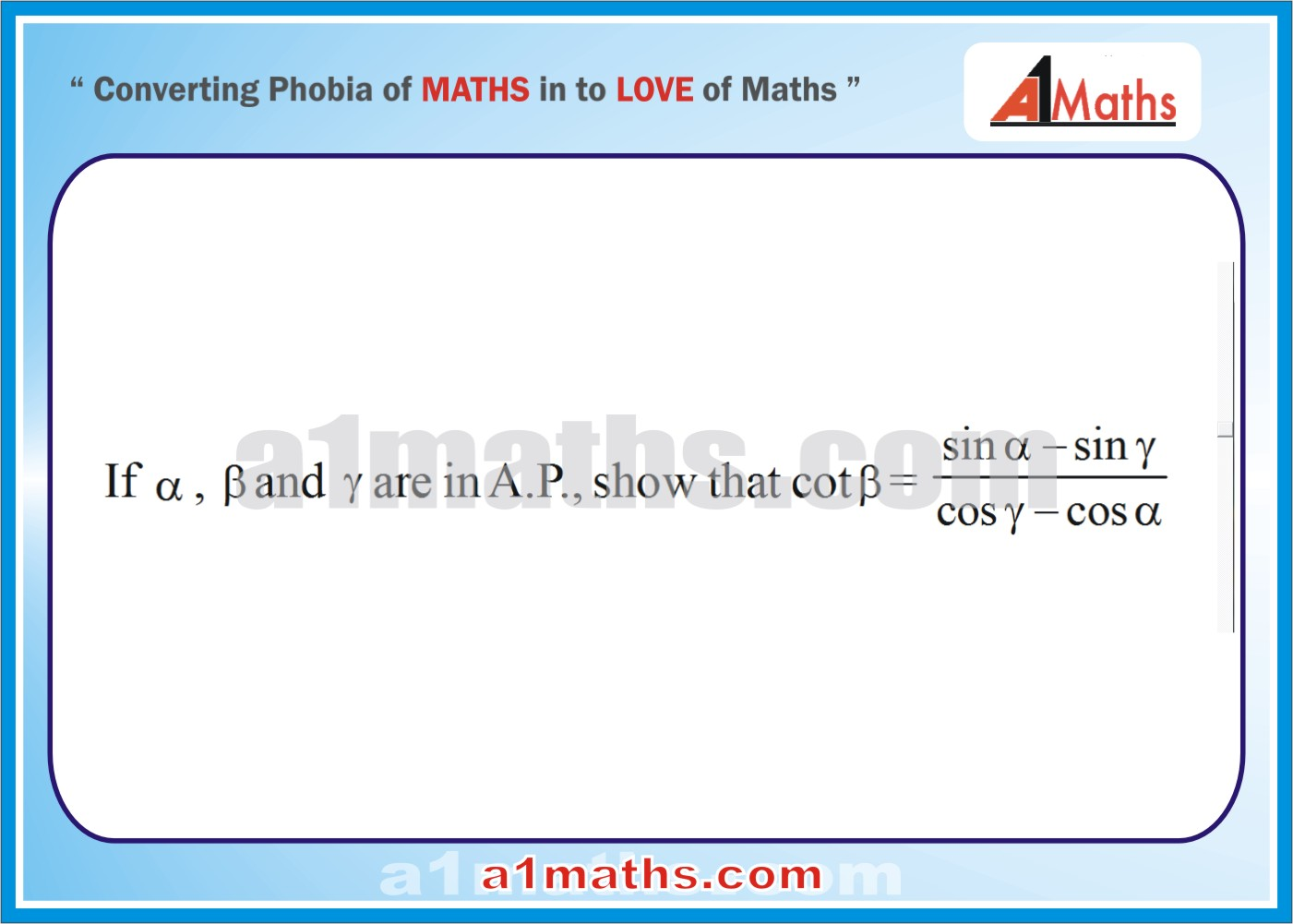 Problem-Solved Examples-5-1--Trigonometrical Ratios and Identities-Trigonometry- IIT-JEE Maths-Mains-Advanced-Free Study Material-