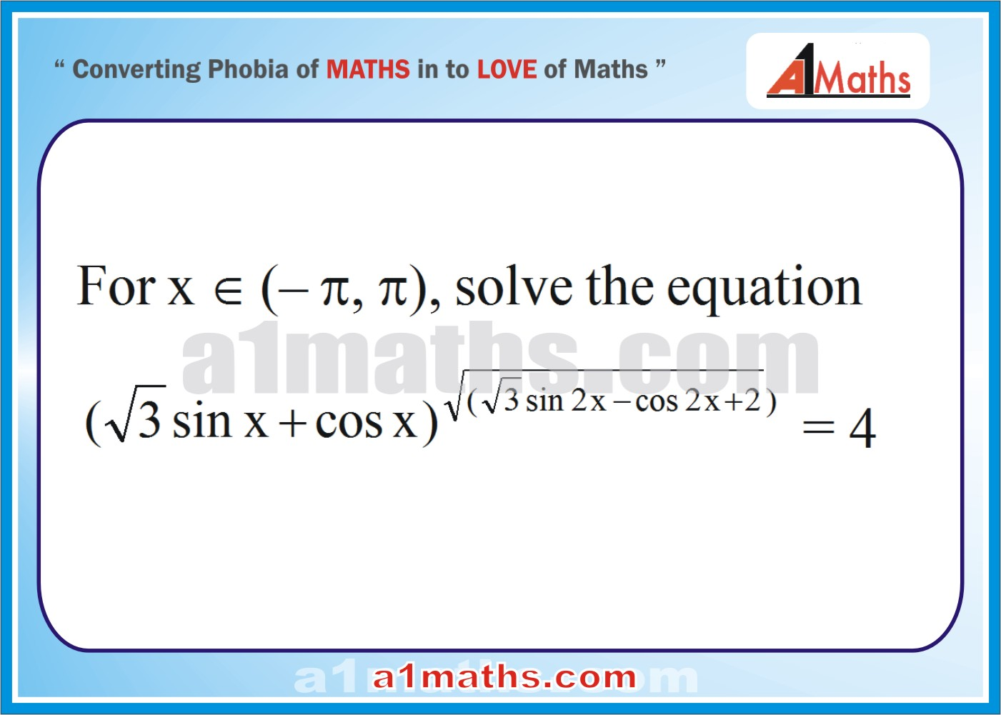 Questions with Solutions-Trigonometric-Equations-Inequalities ...