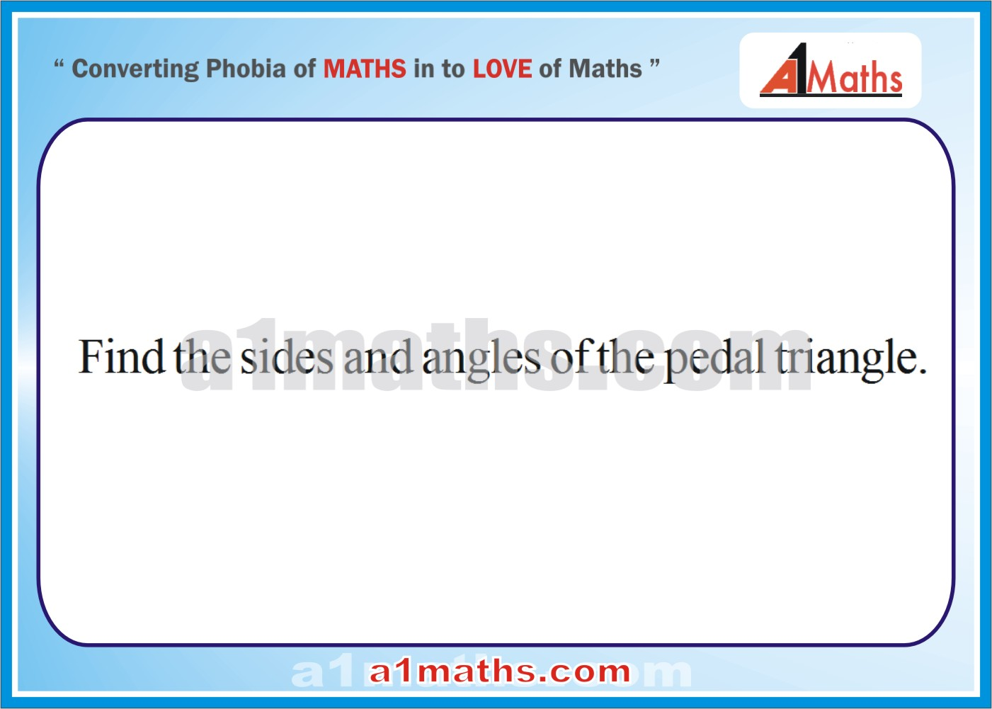 Questions with Solutions-Properties-of-Triangle-Trigonometry-IIT JEE ...