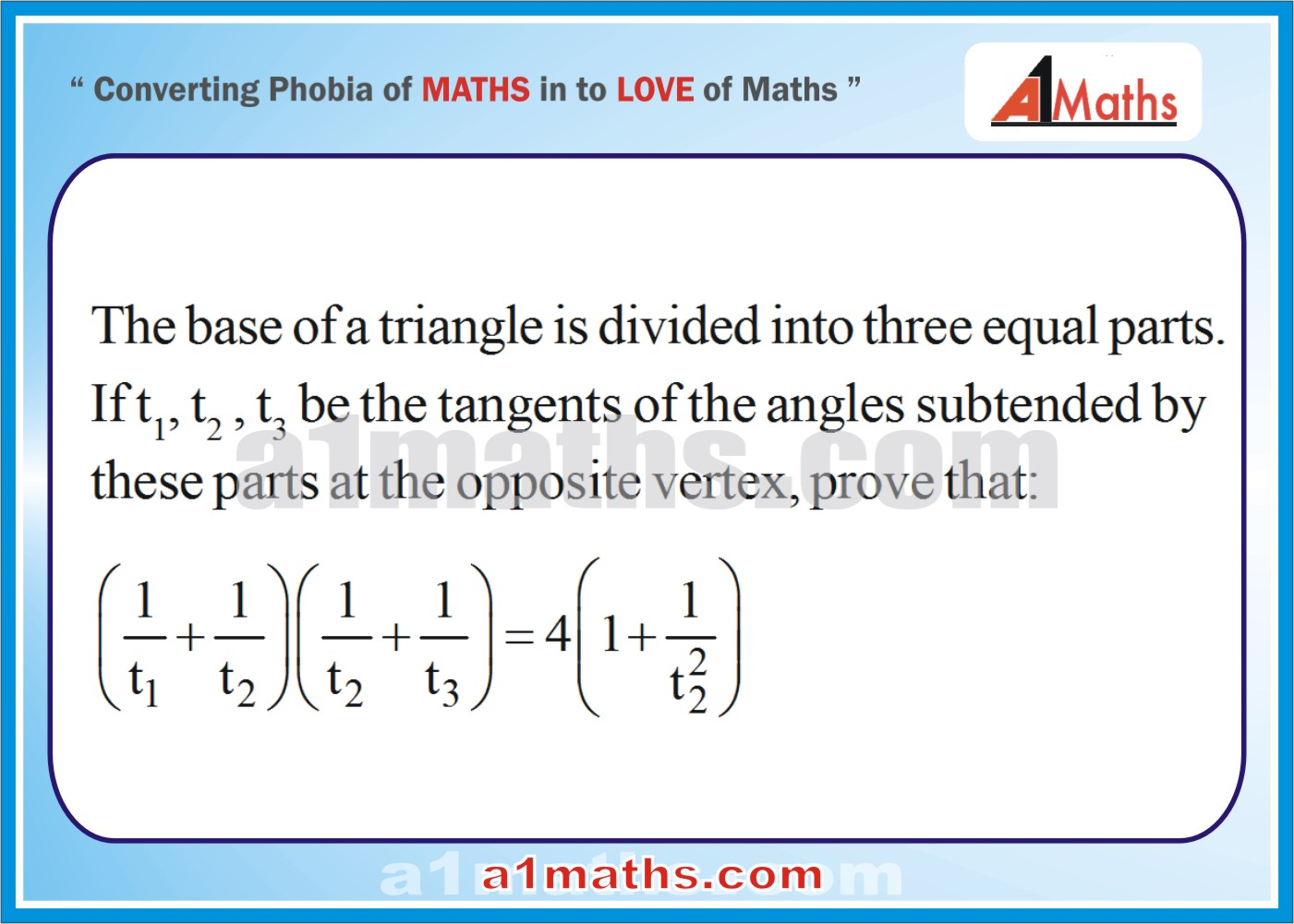 Question with solution-Trigonometry-IIT JEE MATHS-Mains / Advanced ...