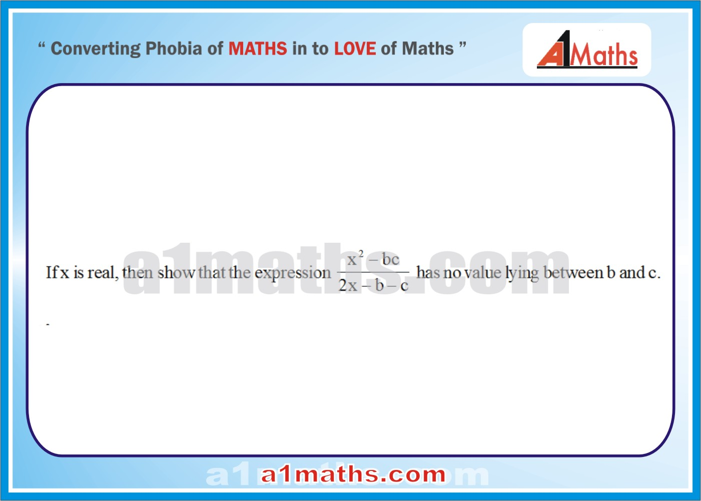 Problems -Solved Examples-1-1-Algebra-1-Quadratic Equation-IIT-JEE Maths-Mains-Advanced-Free Study Material-