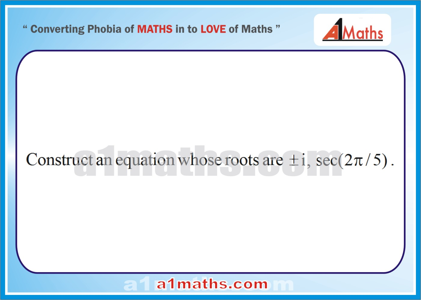 Problems -Solved Examples-1-1-Algebra-Complex Number-IIT-JEE Maths-Mains-Advanced-Free Study Material-