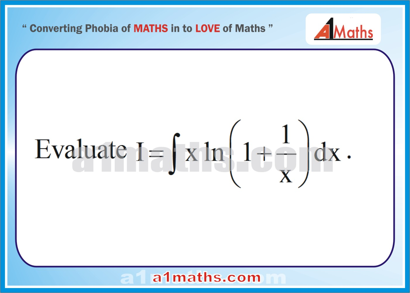 Calculus problems examples