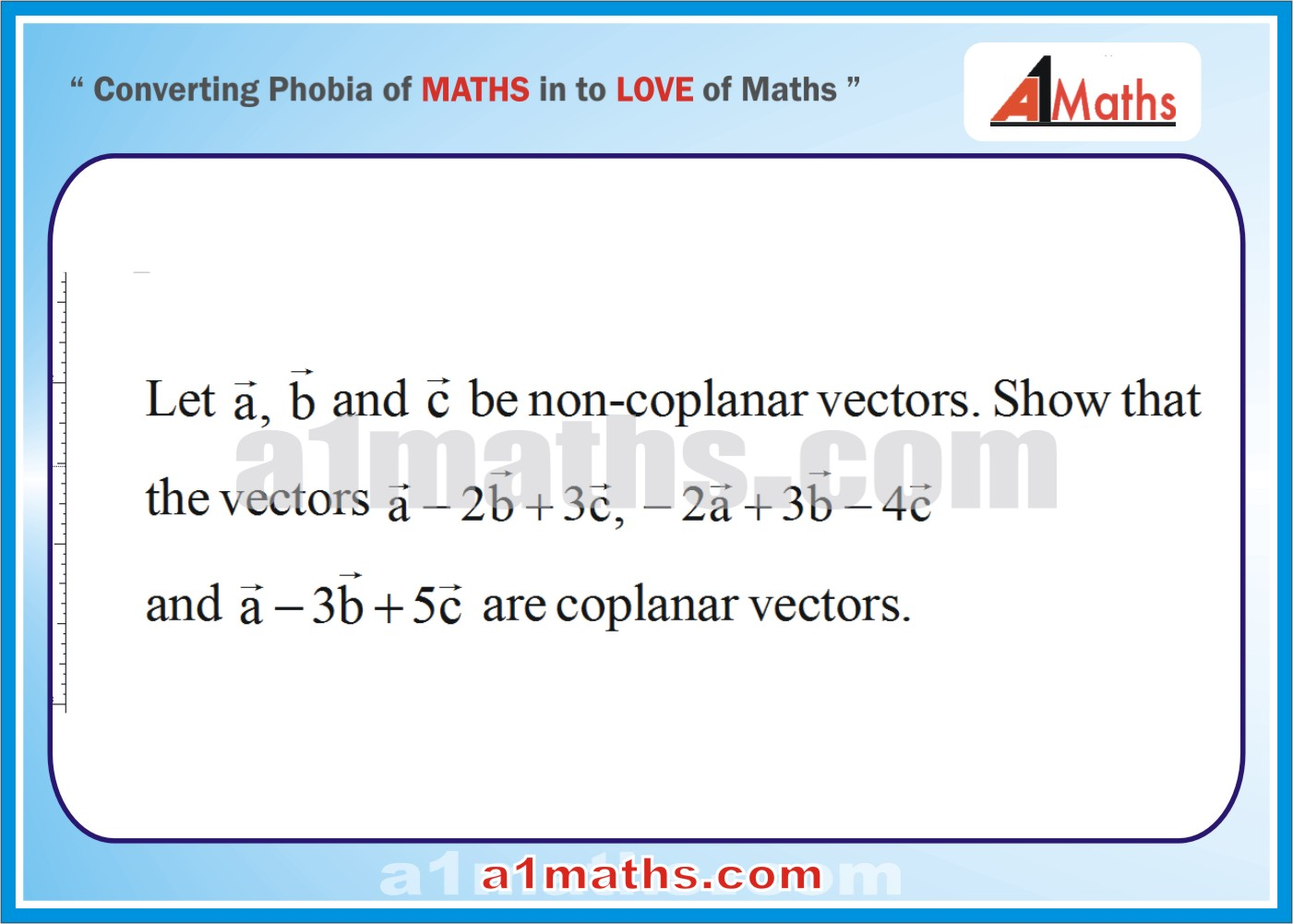 Problems- Solved Examples-1-1-Vector-Vector--IIT-JEE Maths-Mains-Advanced-Free Study Material-