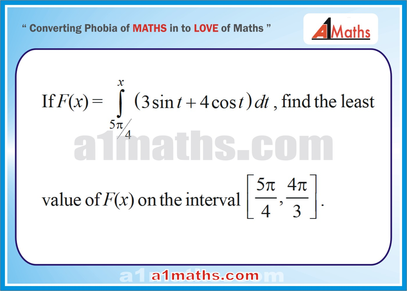 Solved examples-Definite integration-Integral Calculus-IIT