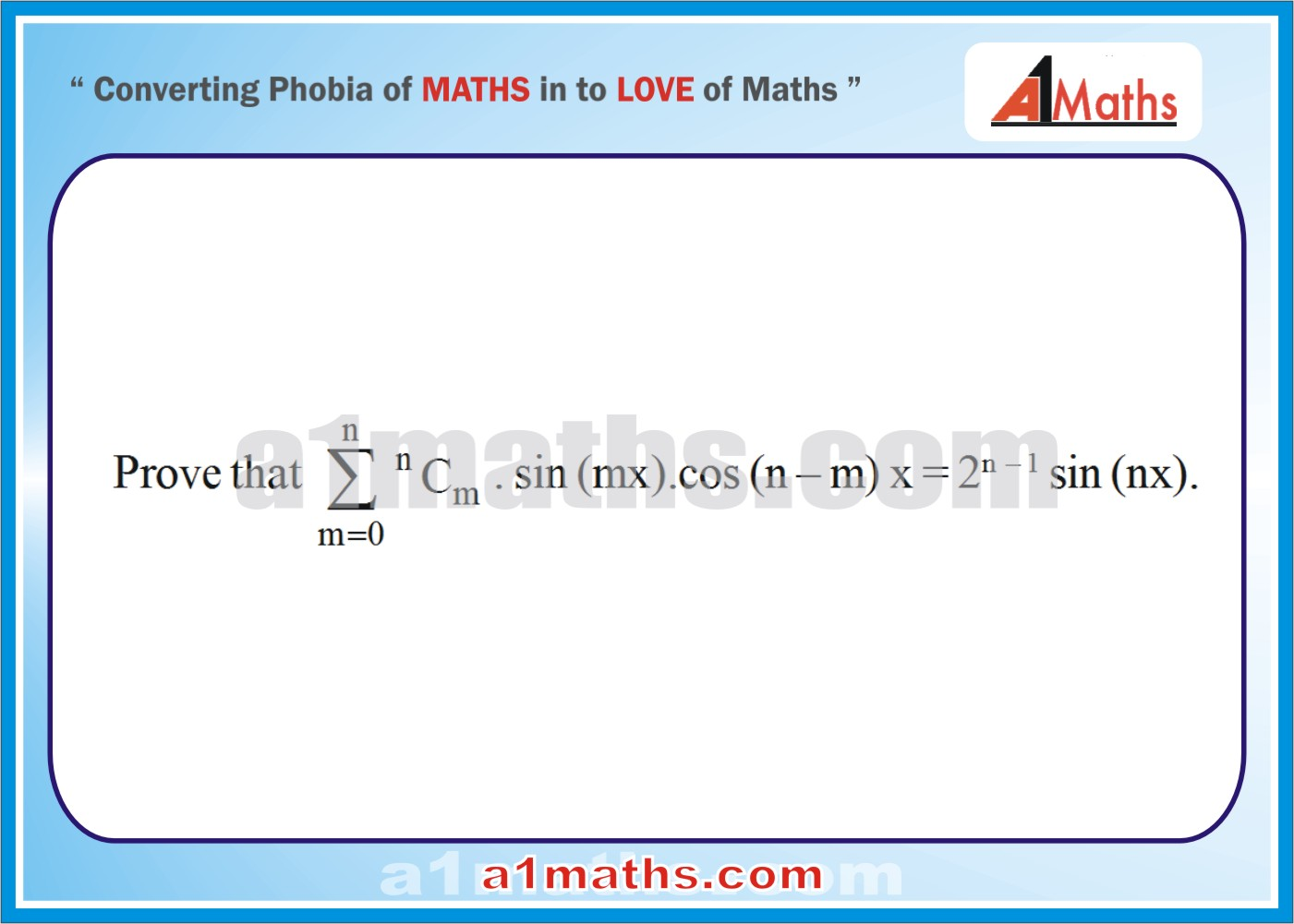 Problems -Solved Examples-5-1-Algebra-2-Binomial Theorem-IIT-JEE Maths-Mains-Advanced-Free Study Material-