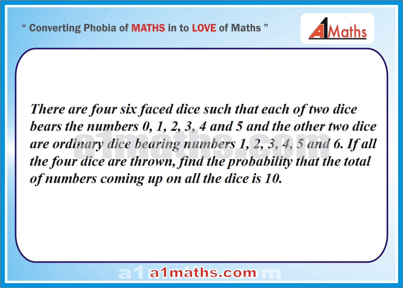 Problems -Solved Examples-5-1-Algebra-2-Probability-IIT-JEE Maths-Mains-Advanced-Free Study Material-