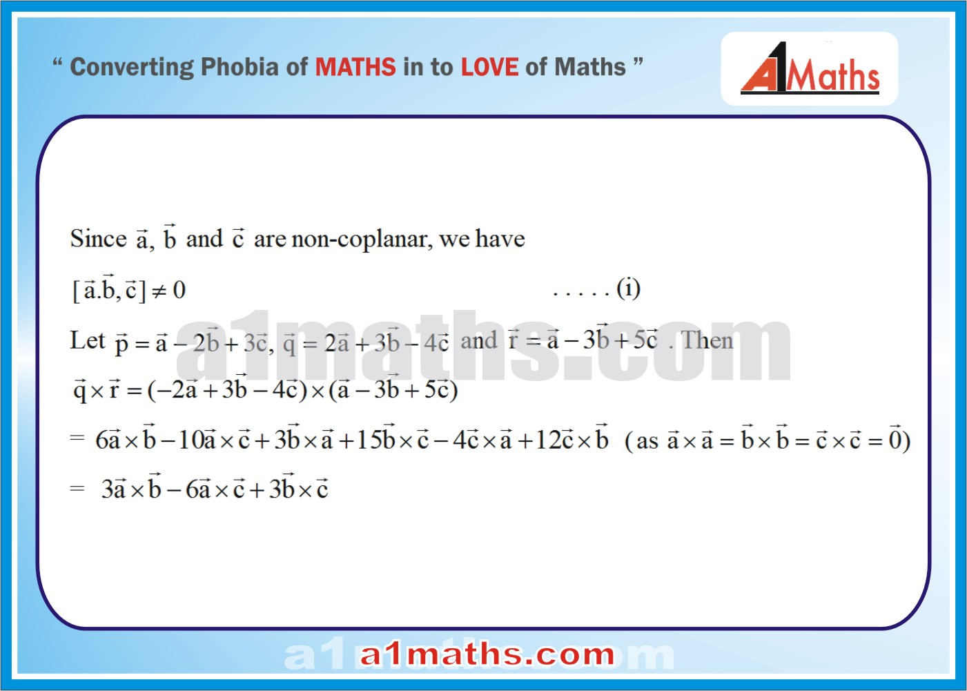 Solved Examples-1-1-Vector-IIT-JEE Maths-Mains-Advanced-Free Study Material-