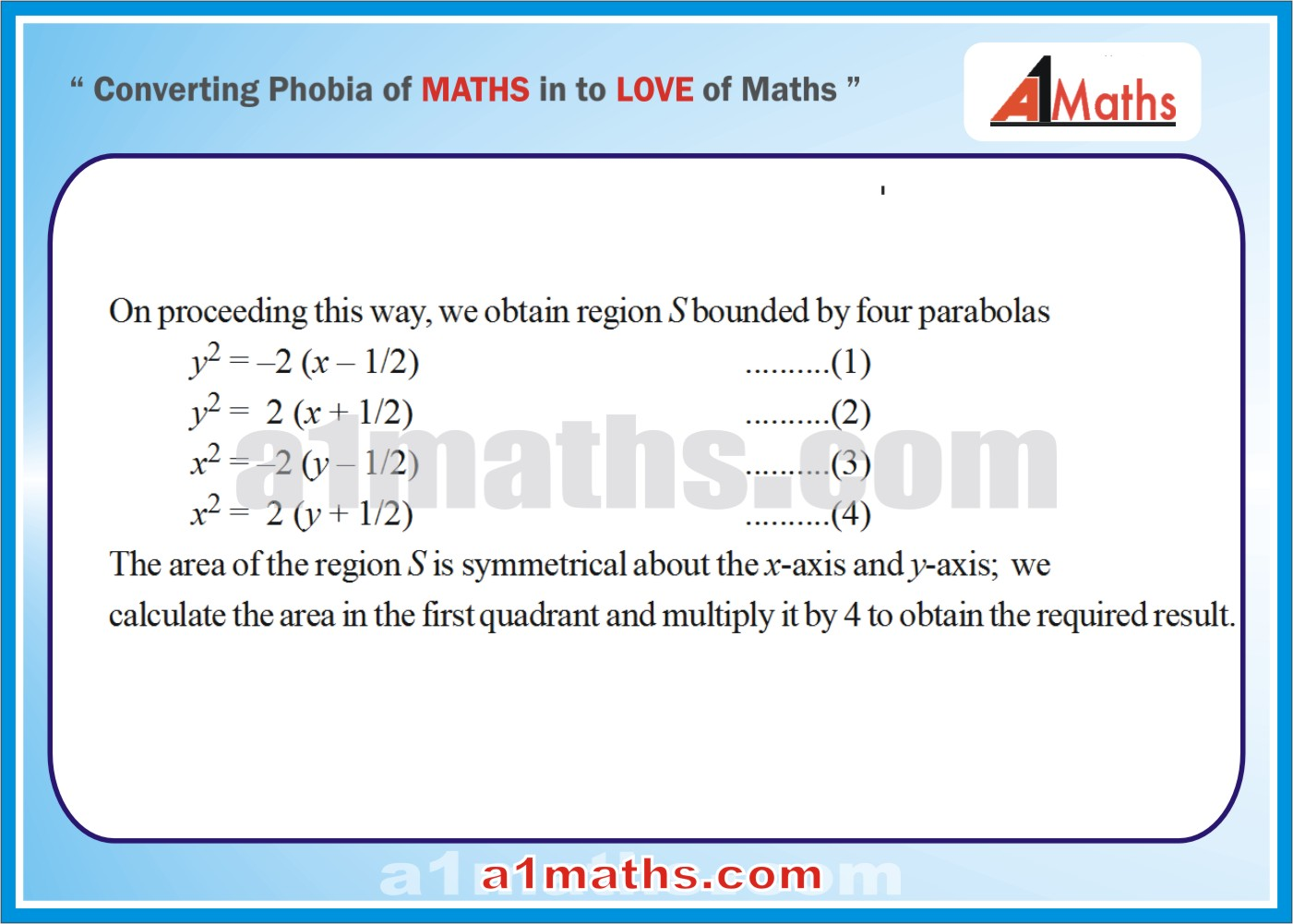 Solved Examples12integral Calculusareafunctioniit Advancedfree Study  Material