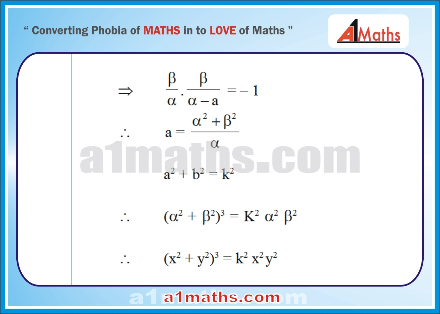 Solved Examples-1-2- Straight Line-Coordinate Geometry-IIT-JEE Maths-Mains-Advanced-Free Study Material-