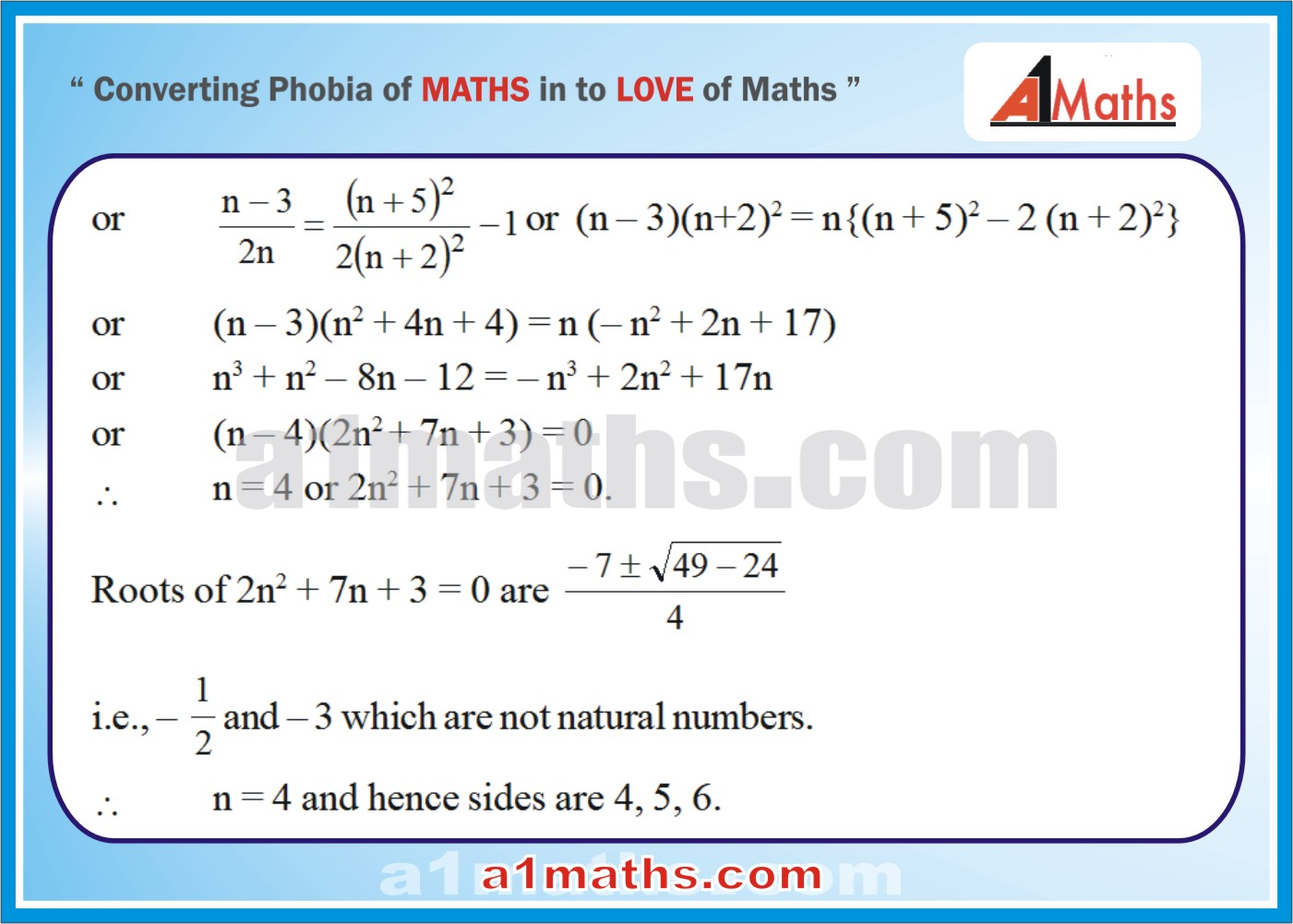Solved Examples-1-2- Trigonometry-Solution of Triangle-IIT-JEE Maths-Mains-Advanced-Free Study Material-