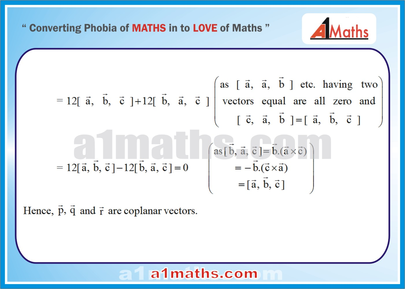 Solved Examples-1-3-Vector-IIT-JEE Maths-Mains-Advanced-Free Study Material-