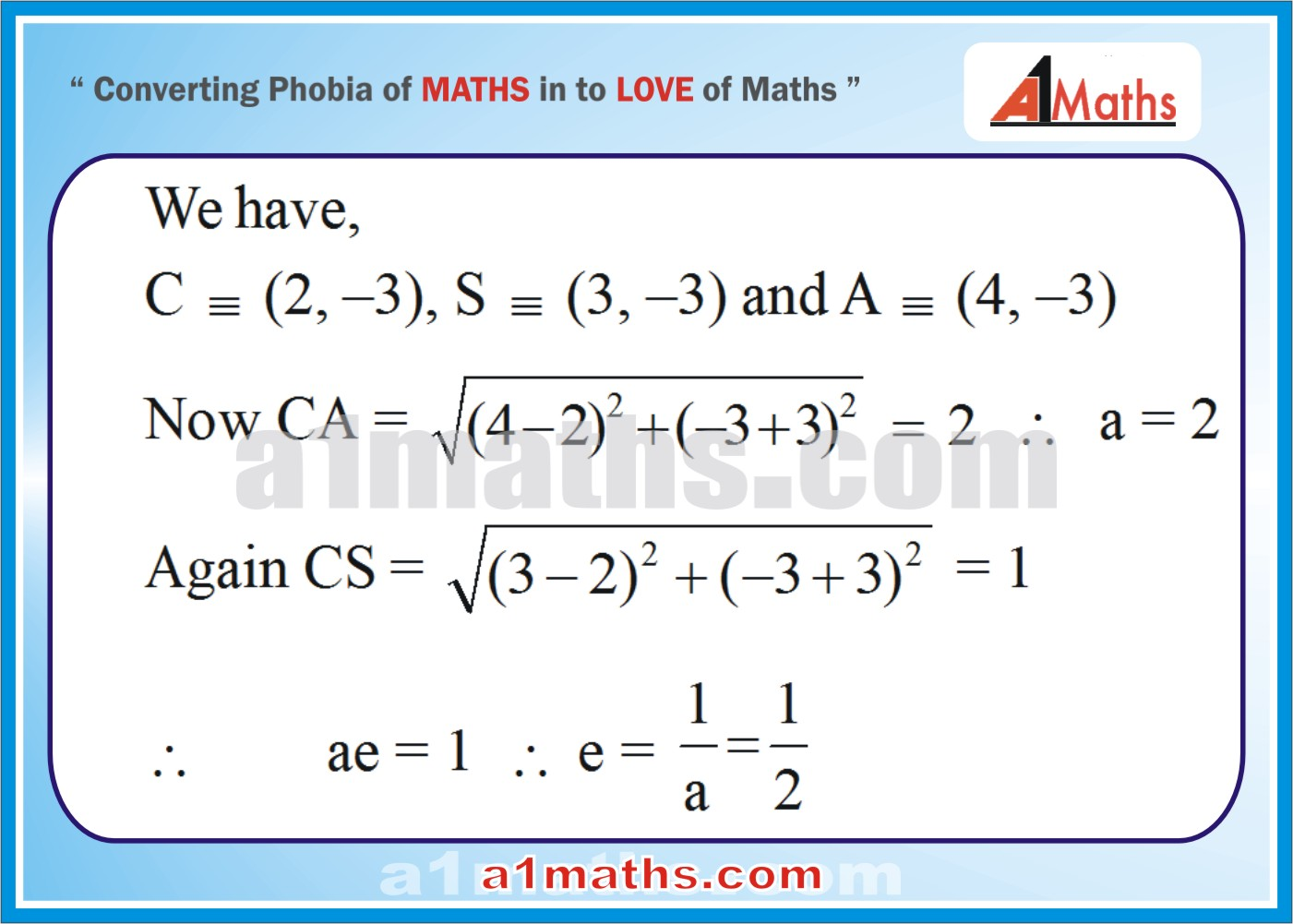 Solved Examples-2-1- Ellipse-Coordinate Geometry-IIT-JEE Maths-Mains-Advanced-Free Study Material-