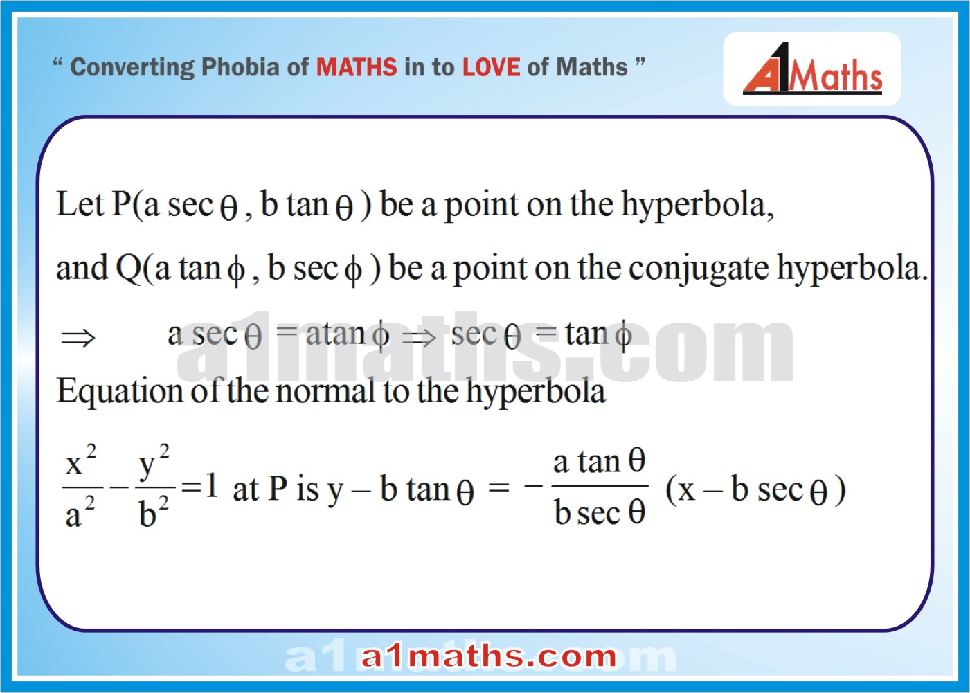 Solved Examples-2-1- Hyperbola-Coordinate Geometry-IIT-JEE Maths-Mains-Advanced-Free Study Material-