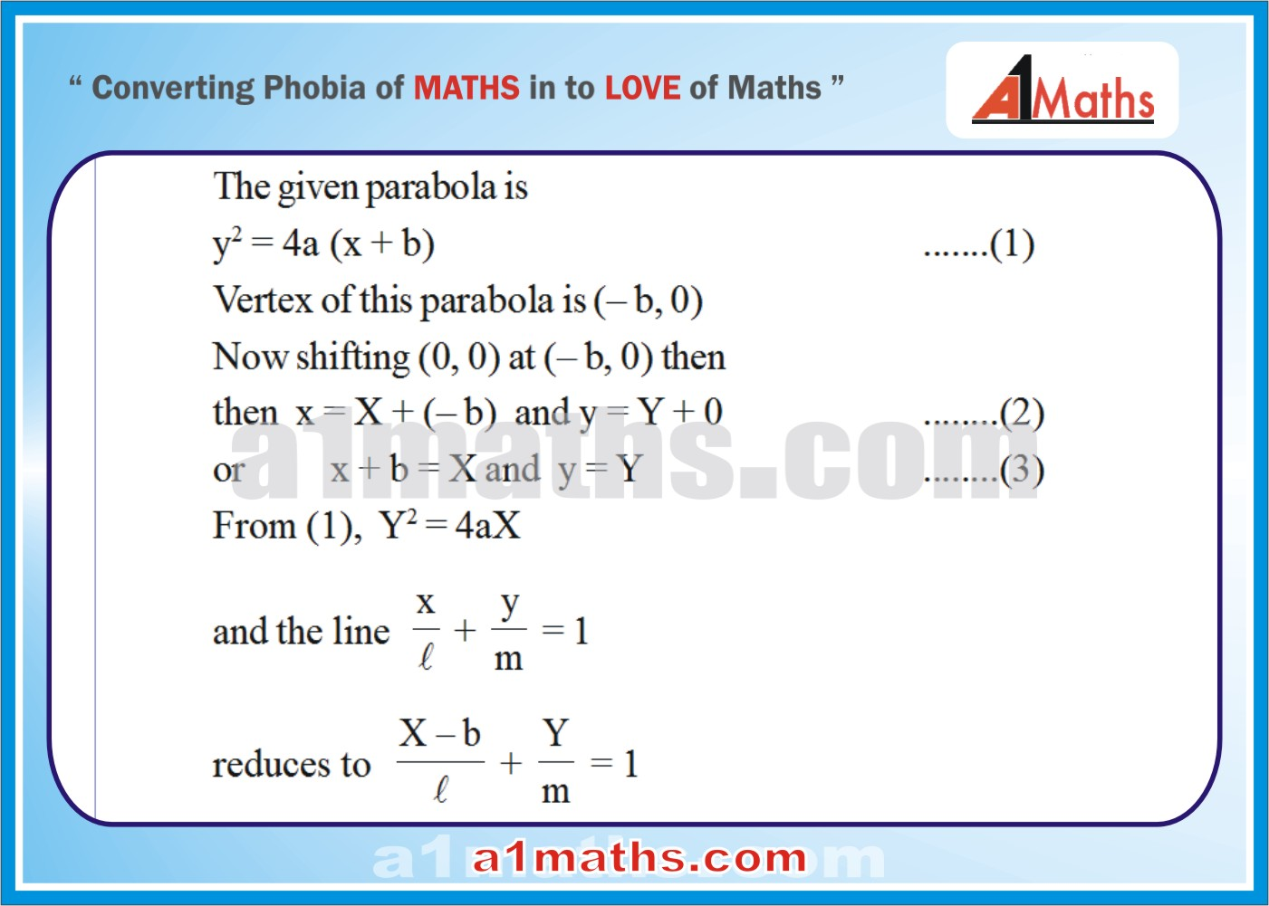 Solved Examples-2-1- Parabola-Coordinate Geometry-IIT-JEE Maths-Mains-Advanced-Free Study Material-