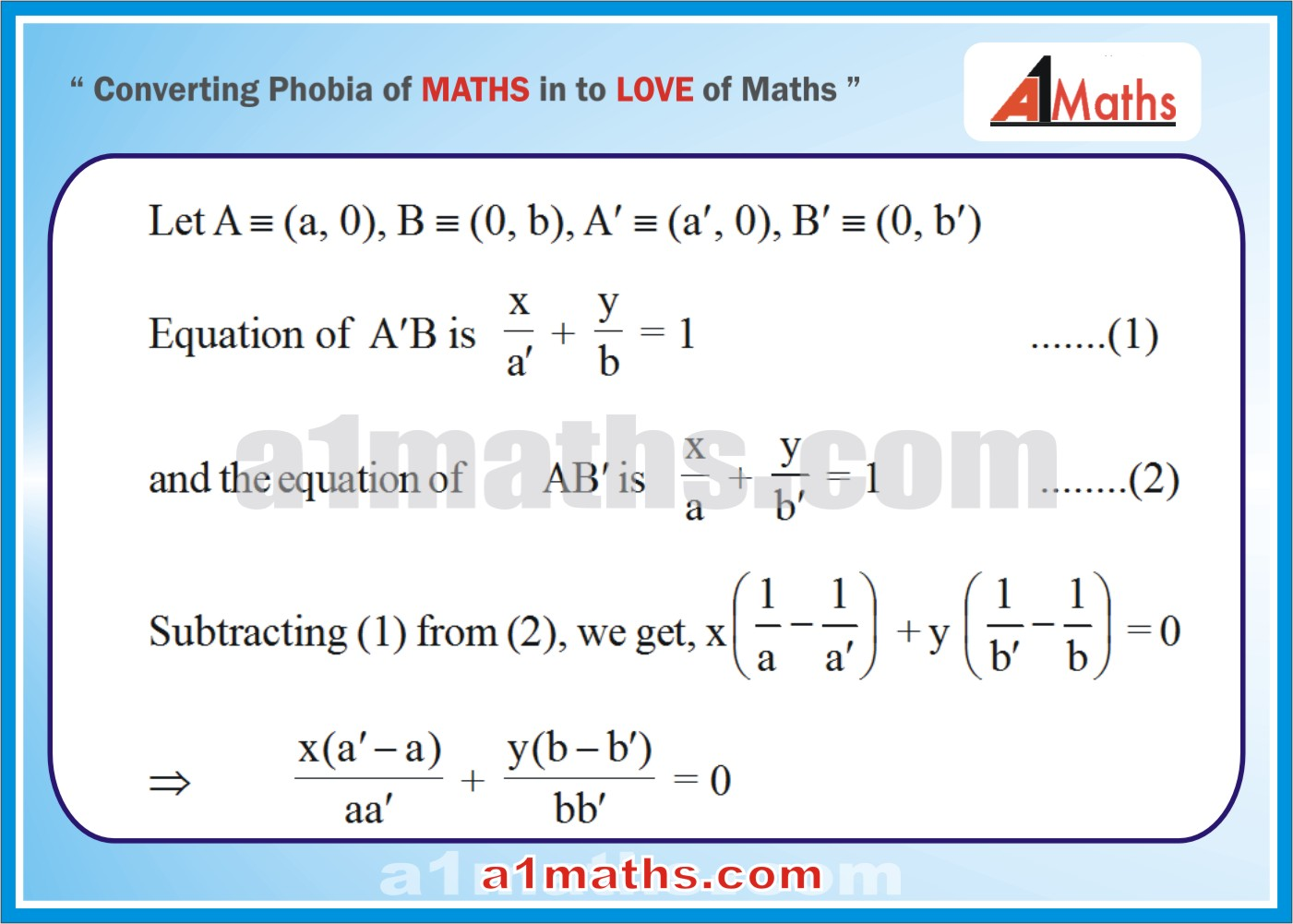 Solved Examples-2-1- Straight Line-Coordinate Geometry-IIT-JEE Maths-Mains-Advanced-Free Study Material-
