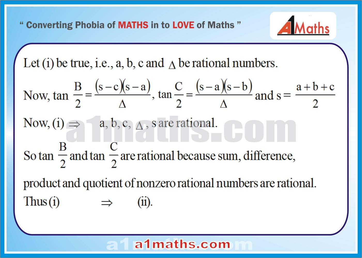 Solved Examples-2-1- Trigonometry-Solution of Triangle-IIT-JEE Maths-Mains-Advanced-Free Study Material-