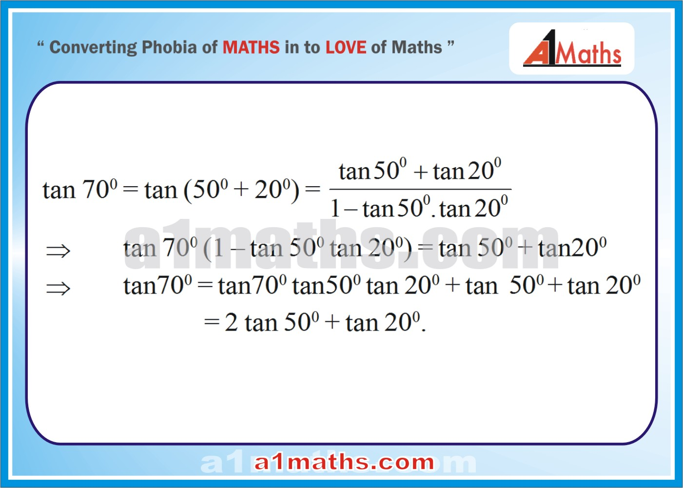 Solved Examples Trigonometric Ratios Identities Trigonometry Iit