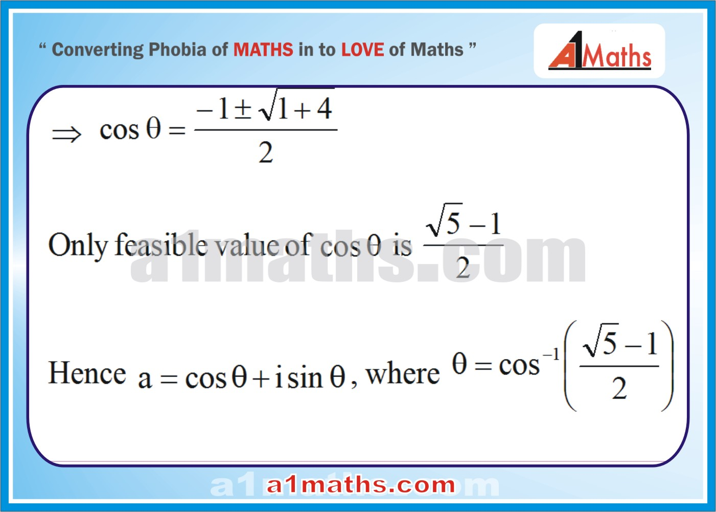Solved Examples-2-2- Algebra-1-Complex Number-IIT-JEE Maths-Mains-Advanced-Free Study Material-