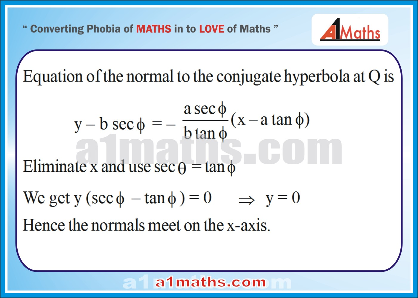 Solved Examples-2-2- Hyperbola-Coordinate Geometry-IIT-JEE Maths-Mains-Advanced-Free Study Material-