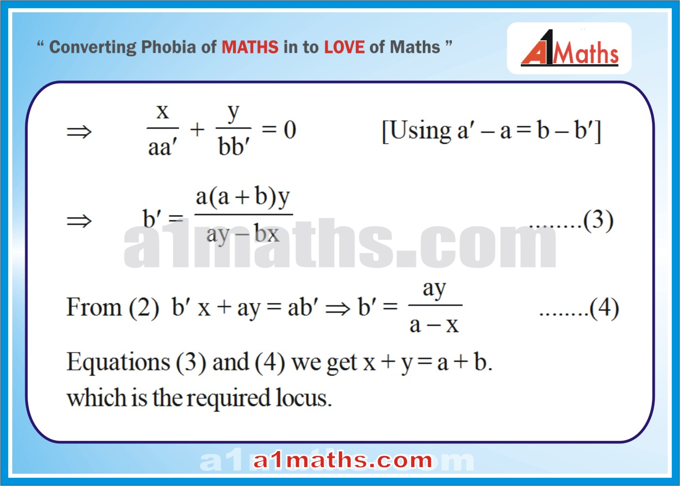 Solved Examples-2-2- Straight Line-Coordinate Geometry-IIT-JEE Maths-Mains-Advanced-Free Study Material-