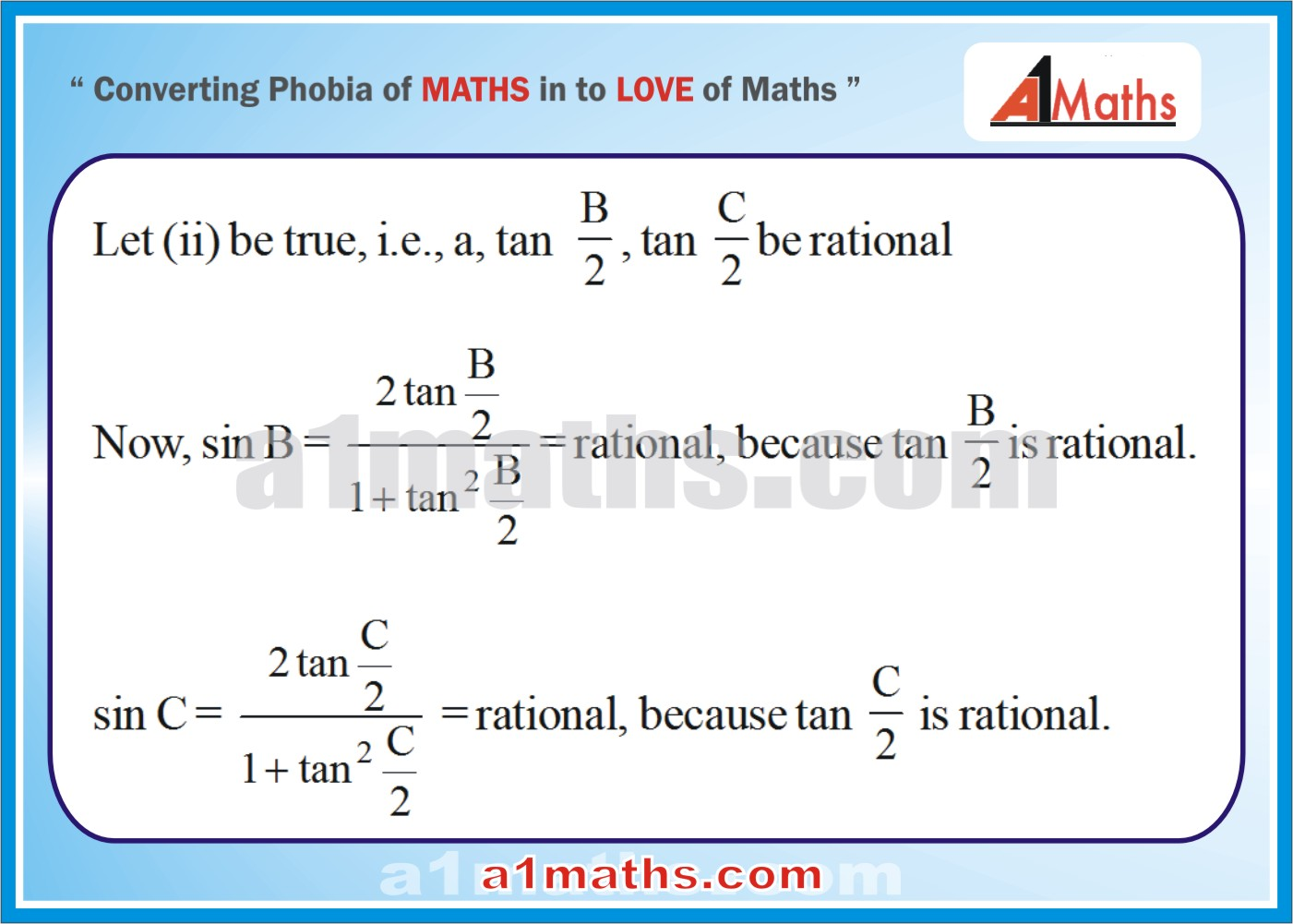 Solved Examples-2-2- Trigonometry-Solution of Triangle-IIT-JEE Maths-Mains-Advanced-Free Study Material-