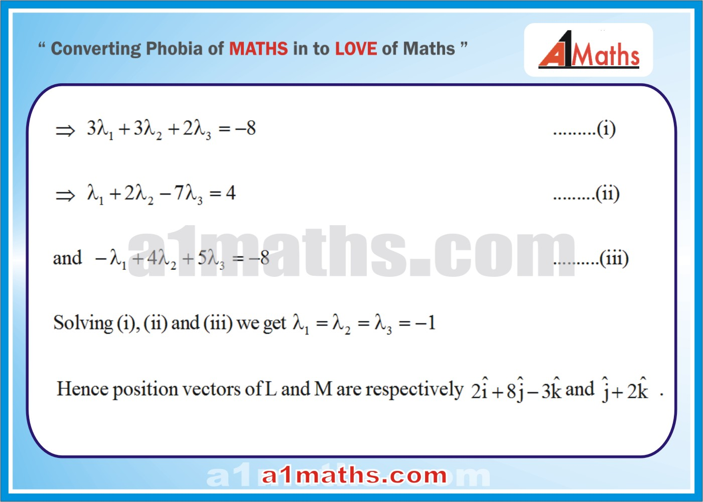 Solved Examples-2-3-Vector-IIT-JEE Maths-Mains-Advanced-Free Study Material-