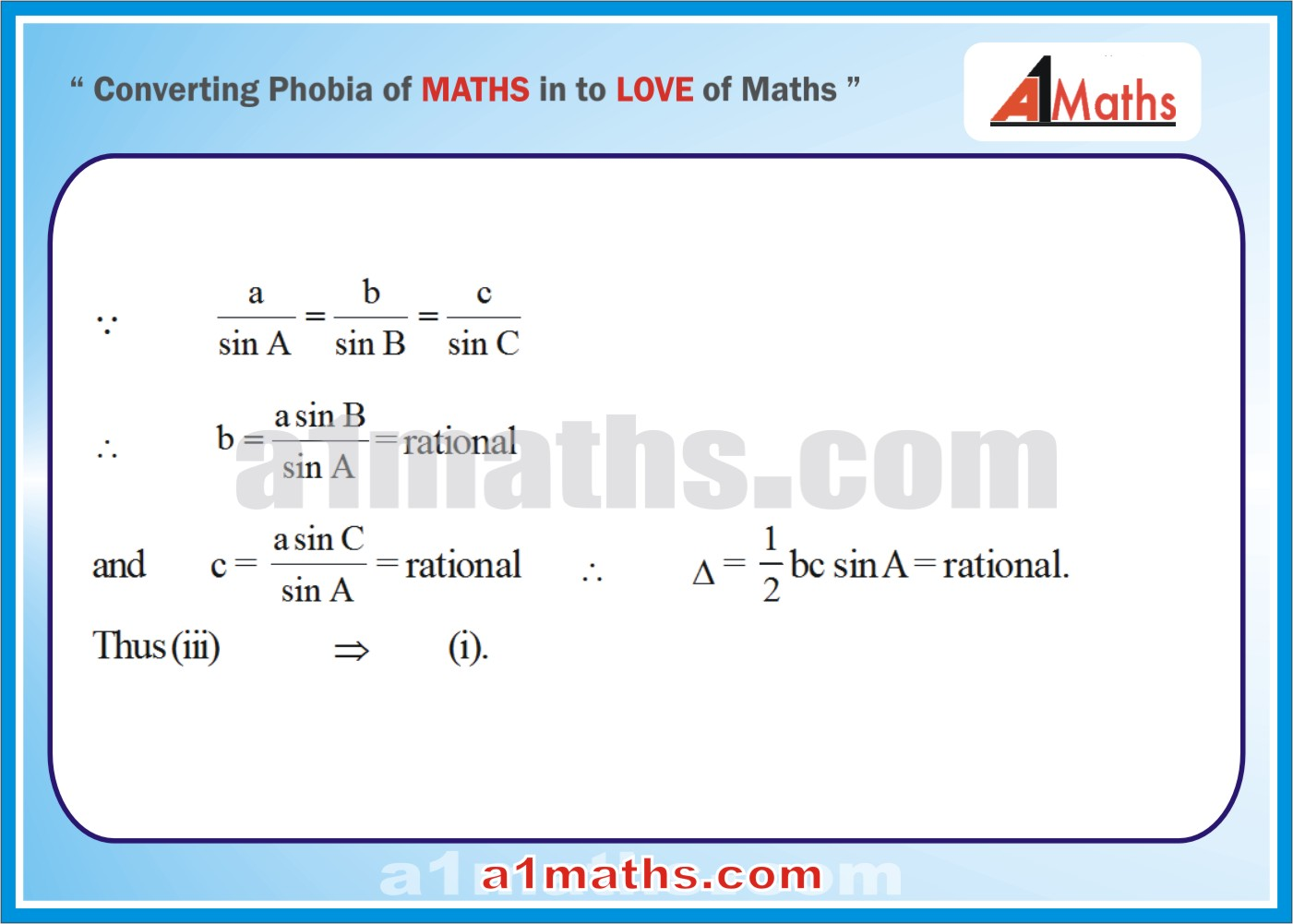 Solved Examples-2-5- Trigonometry-Solution of Triangle-IIT-JEE Maths-Mains-Advanced-Free Study Material-