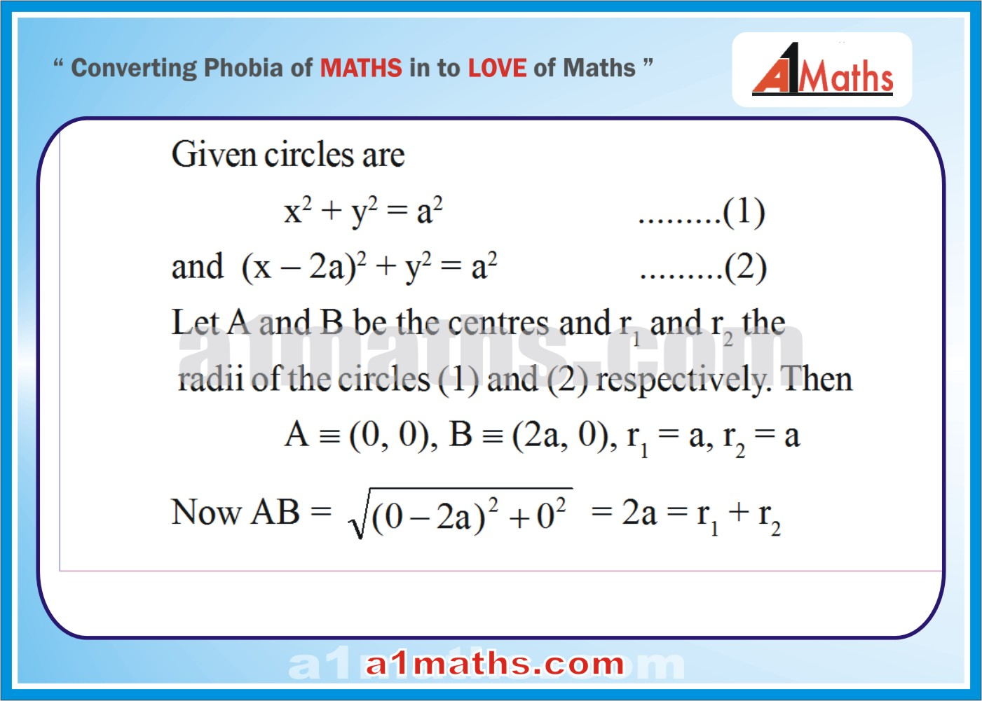 Solved Examples-3-1- Circle-Coordinate Geometry-IIT-JEE Maths-Mains-Advanced-Free Study Material-