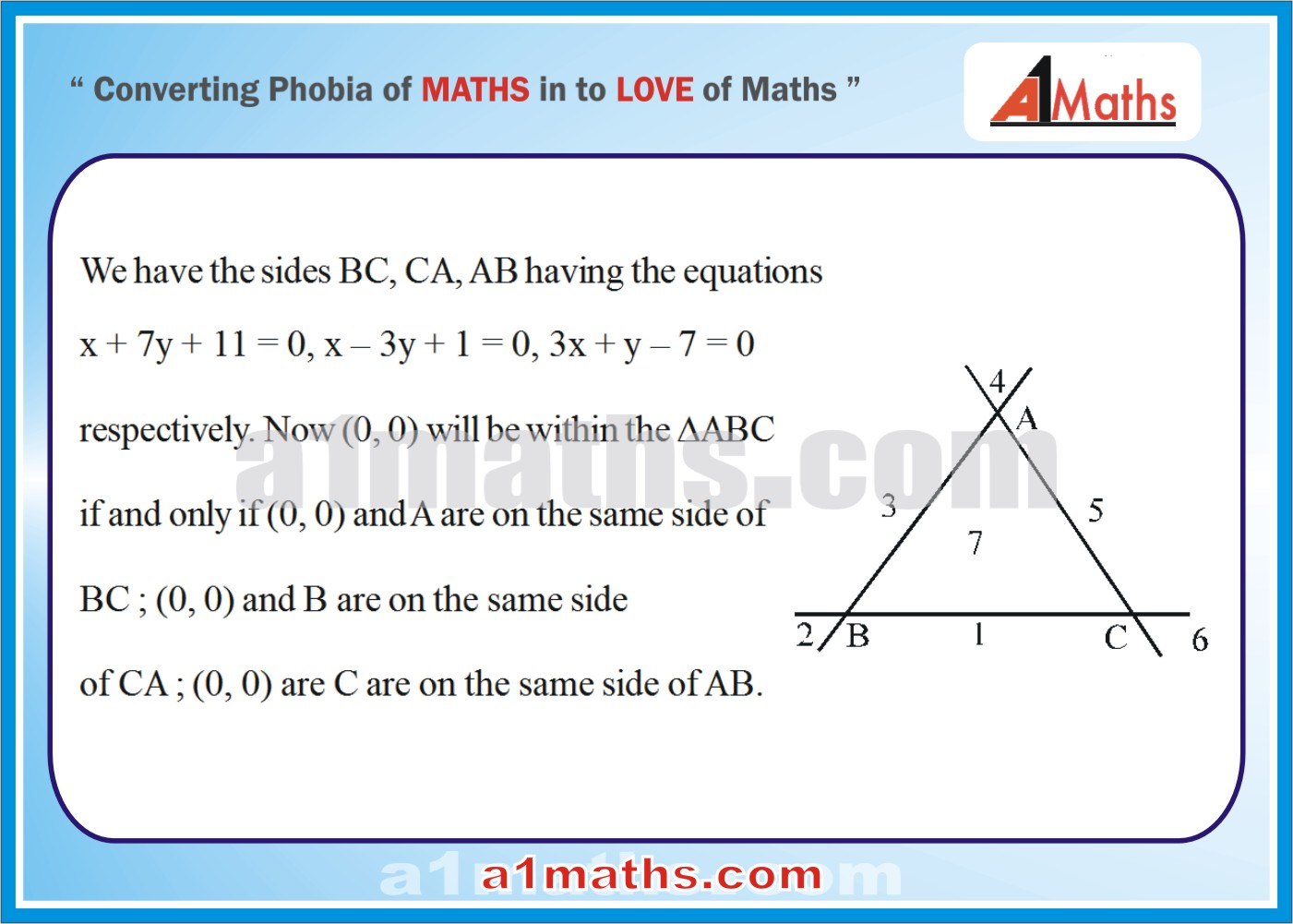 Solved Examples-3-1- Straight Line-Coordinate Geometry-IIT-JEE Maths-Mains-Advanced-Free Study Material-