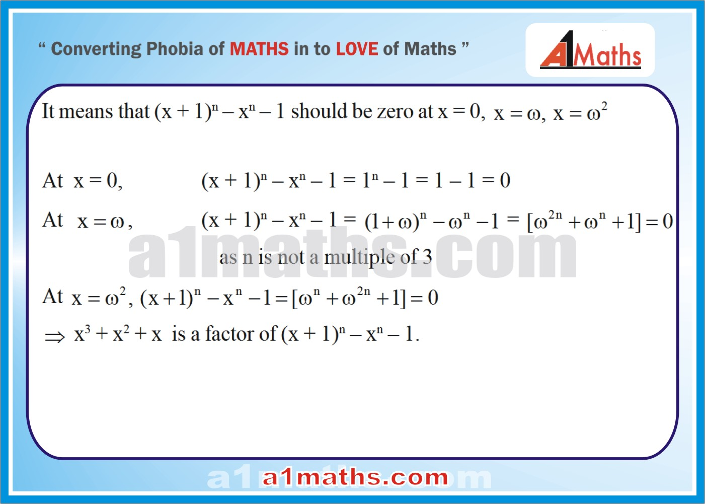 Solved Examples-3-2- Algebra-1-Complex Number-IIT-JEE Maths-Mains-Advanced-Free Study Material-