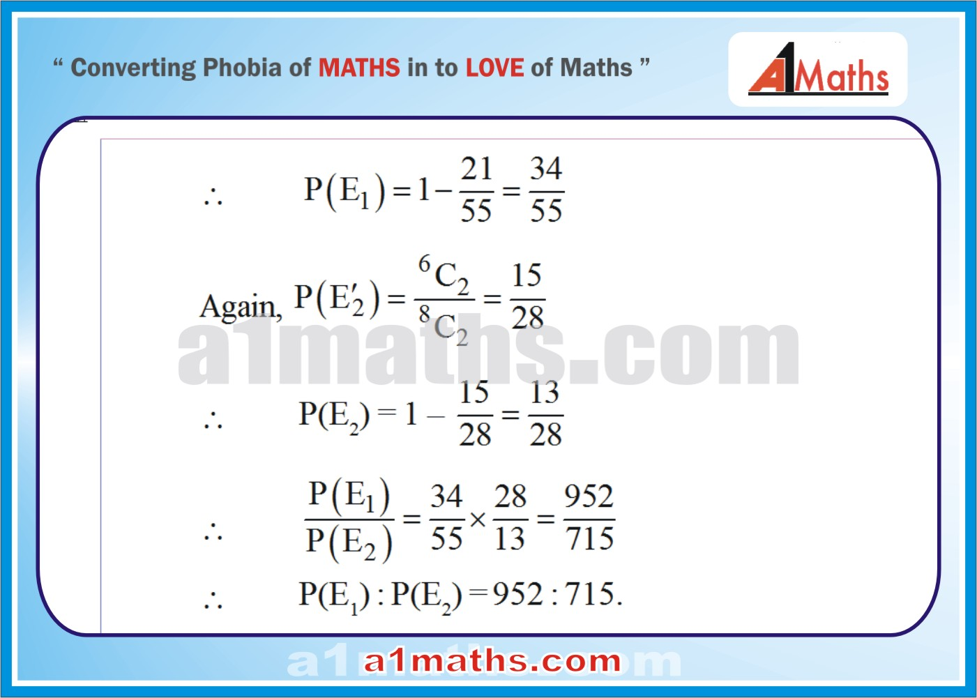 Solved Examples-3-2- Algebra-2-Probability-IIT-JEE Maths-Mains-Advanced-Free Study Material-