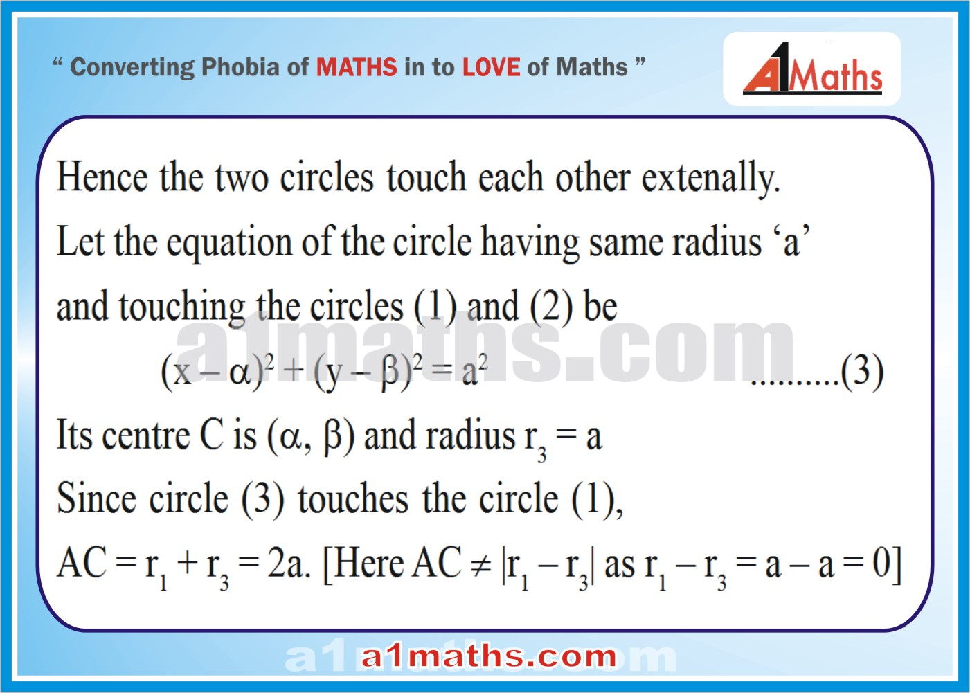 Solved Examples-3-2- Circle-Coordinate Geometry-IIT-JEE Maths-Mains-Advanced-Free Study Material-