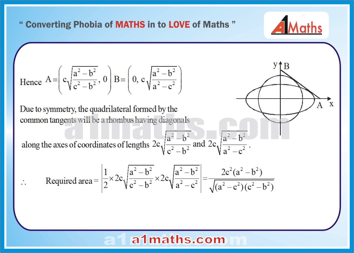 Solved Examples-3-2- Ellipse-Coordinate Geometry-IIT-JEE Maths-Mains-Advanced-Free Study Material-