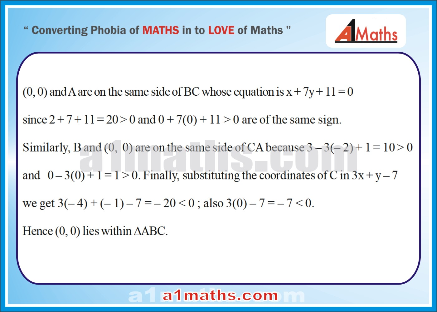 Solved Examples-3-2- Straight Line-Coordinate Geometry-IIT-JEE Maths-Mains-Advanced-Free Study Material-