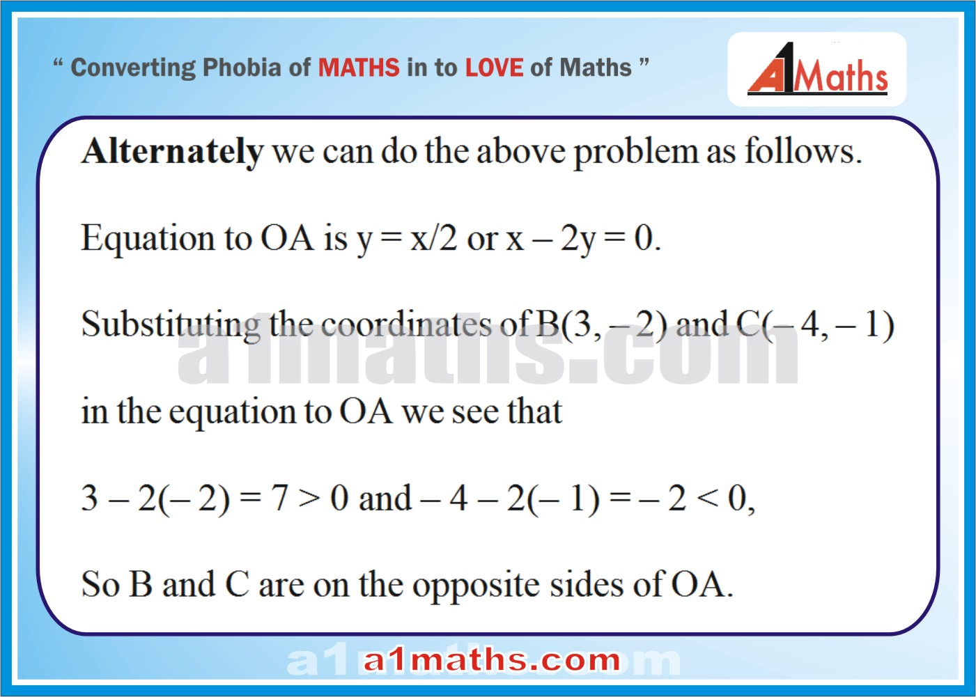 olved Examples-3-3- Straight Line-Coordinate Geometry-IIT-JEE Maths-Mains-Advanced-Free Study Material-