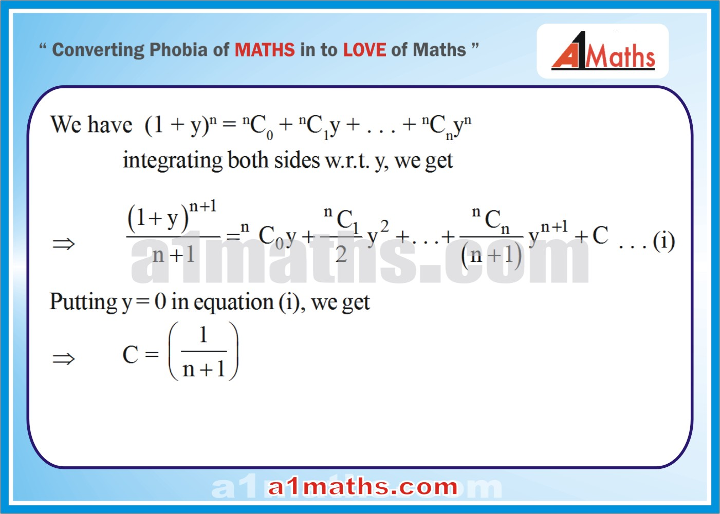 Solved Examples-4-1- Algebra-2-Binomial Theorem-IIT-JEE Maths-Mains-Advanced-Free Study Material