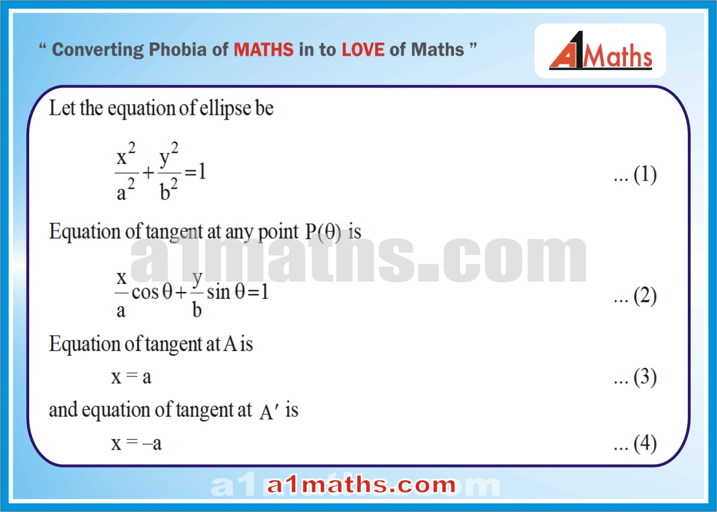 Solved Examples-4-1- Ellipse-Coordinate Geometry-IIT-JEE Maths-Mains-Advanced-Free Study Material-