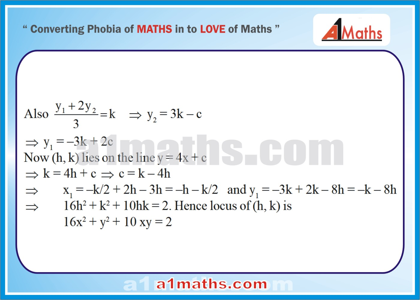 Solved Examples-4-2- Hyperbola-Coordinate Geometry-IIT-JEE Maths-Mains-Advanced-Free Study Material