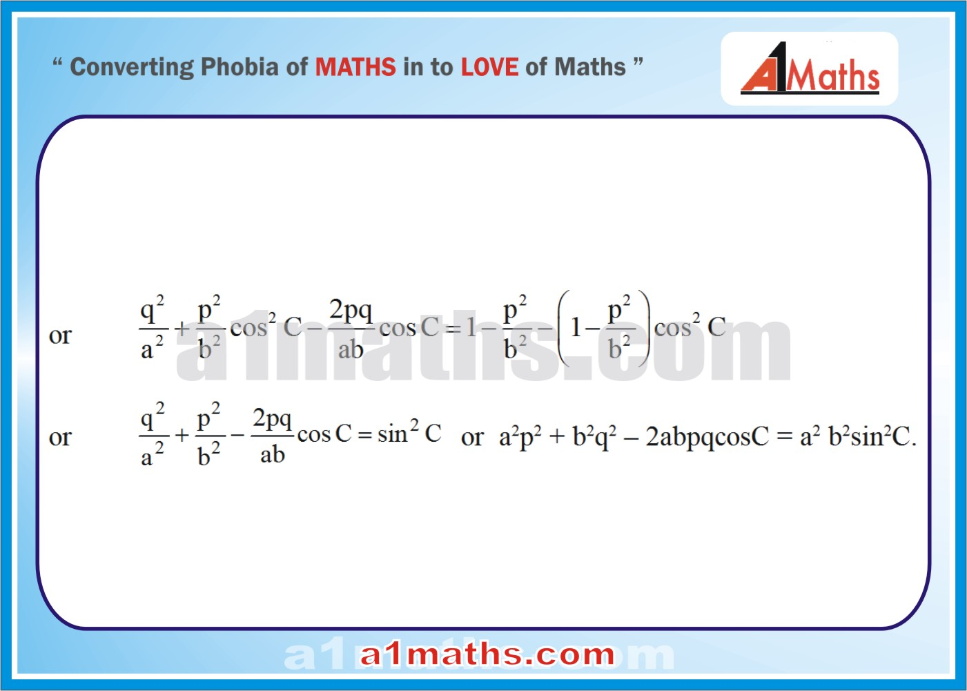 Solved Examples-4-2 Trigonometry-Solution of Triangle-IIT-JEE Maths-Mains-Advanced-Free Study Material-