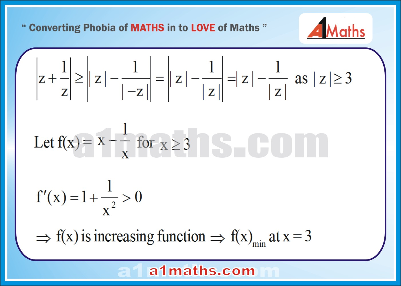 Solved Examples-5-1- Algebra-1-Complex Number-IIT-JEE Maths-Mains-Advanced-Free Study Material-
