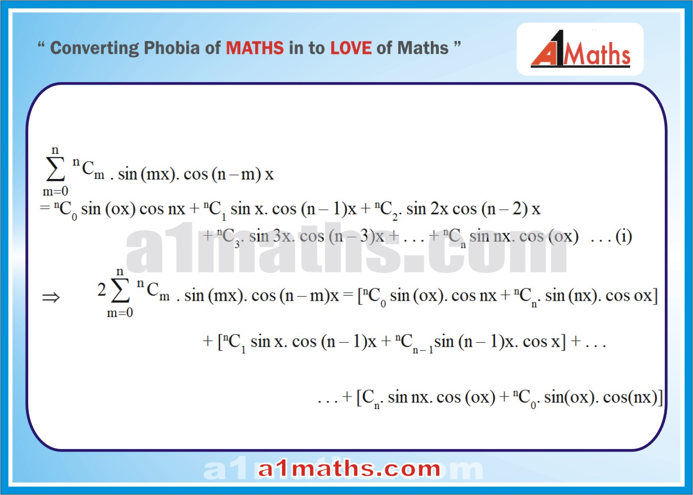 Solved Examples-5-1- Algebra-2-Binomial Theorem-IIT-JEE Maths-Mains-Advanced-Free Study Material