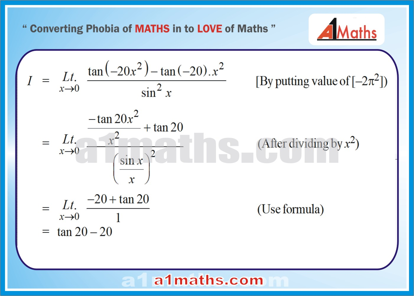 Differential Calculus / IIT JEE MAINS/ADVANCED-FREE STUDY